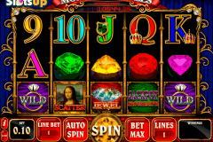 Mona Lisa Jewels Slot Machine