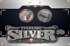 Sterling Silver 3D Slot Machine