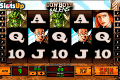 Cowboys And Aliens Slot Machine
